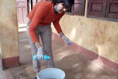 Công tác vệ sinh phòng dịch